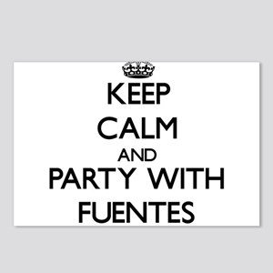 Keep calm and Party with Fuentes Postcards (Packag