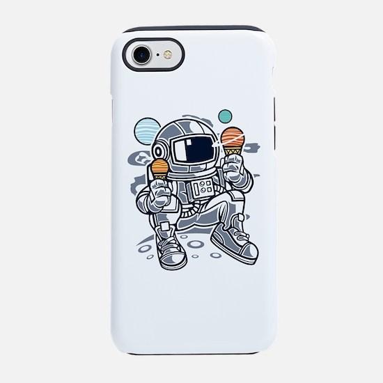 Astronaut With Ice Cream iPhone 7 Tough Case