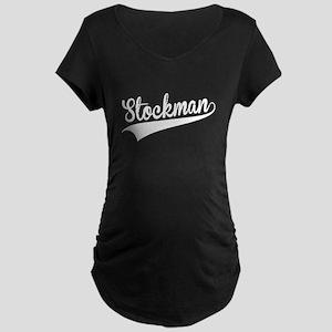 Stockman, Retro, Maternity T-Shirt