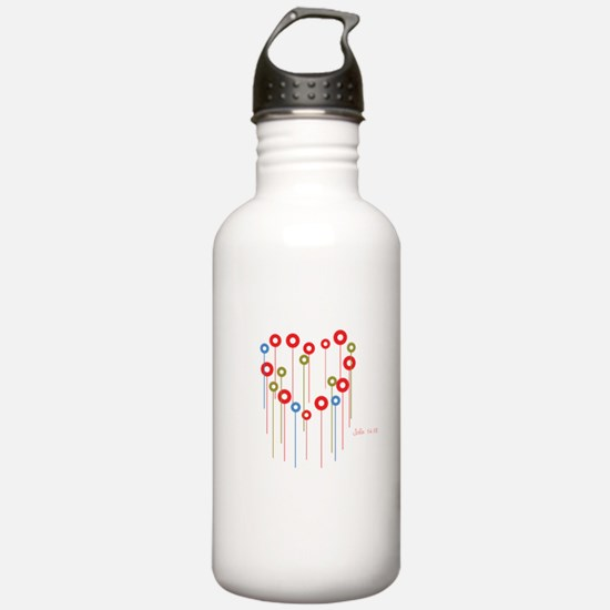 John 14:18 Water Bottle
