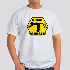 """Brace Yourself"" Light T-Shirt"