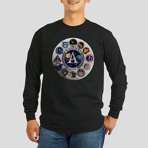 Commemorative Logo Long Sleeve Dark T-Shirt