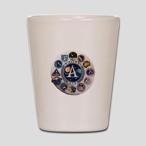 Commemorative Logo Shot Glass