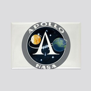Apollo Program Rectangle Magnet