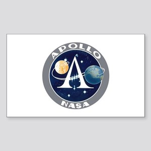 Apollo Program Sticker (Rectangle)
