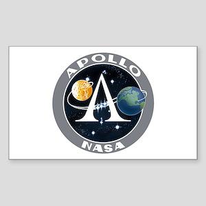 Apollo Program Sticker (Rectangle 10 pk)