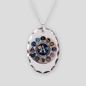 Commemorative Logo Necklace Oval Charm