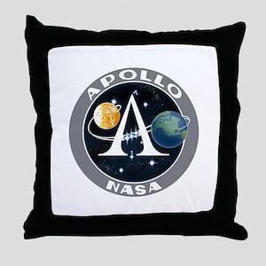 Apollo Program Throw Pillow