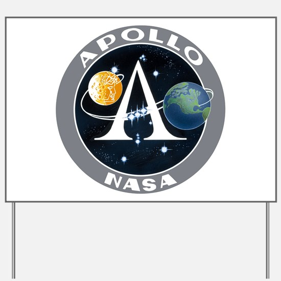 Apollo Program Yard Sign