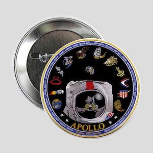 """Crews of Apollo 2.25"""" Button"""