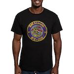 USS AINSWORTH Men's Fitted T-Shirt (dark)