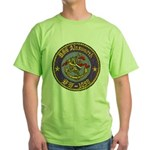 USS AINSWORTH Green T-Shirt