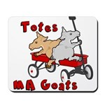 Totes MaGoats Red Wagon Mousepad