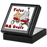 Totes MaGoats Red Wagon Keepsake Box