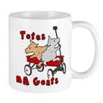 Totes MaGoats Red Wagon Mugs
