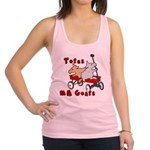 Totes MaGoats Red Wagon Racerback Tank Top