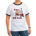 Totes MaGoats Red Wagon T-Shirt
