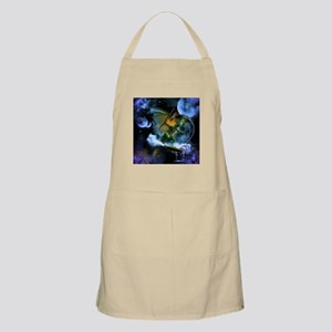 Surfing dragon Apron