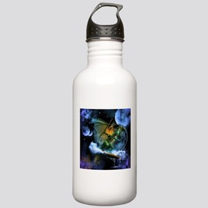 Surfing dragon Water Bottle