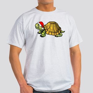 CartoonTurtle_XMas_BK_Shirts T-Shirt