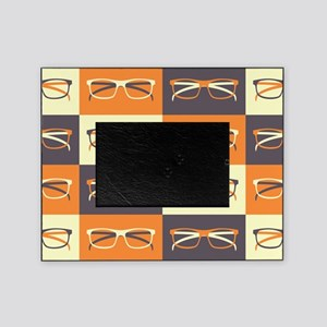 Hipster Glasses Picture Frame