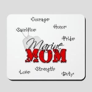Marine Mom Mousepad