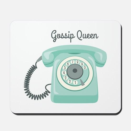 Gossip Queen Mousepad