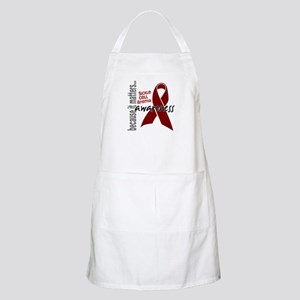 Sickle Cell Anemia Awareness1 Apron