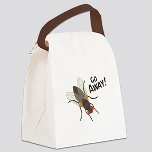 GO AWAY! Canvas Lunch Bag