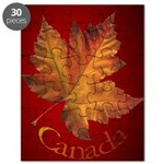 Canada Maple Leaf Puzzle