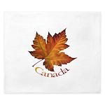 Canada Maple Leaf King Duvet