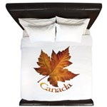 Canada Maple Leaf King Duvet