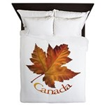 Canada Maple Leaf Queen Duvet