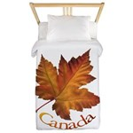 Canada Maple Leaf Twin Duvet