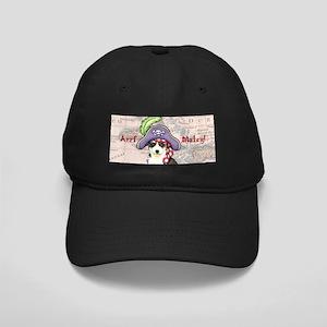 Husky Pirate Black Cap