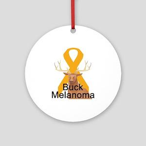 Melanoma Ornament (Round)