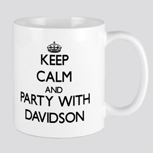 Keep calm and Party with Davidson Mugs