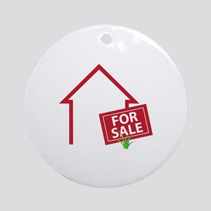For Sale Ornament (Round)