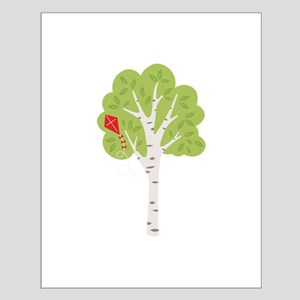 Summer Birch Tree Kite Posters