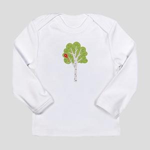 Summer Birch Tree Kite Long Sleeve T-Shirt