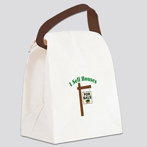I SELL HOUSES FOR SALE Canvas Lunch Bag