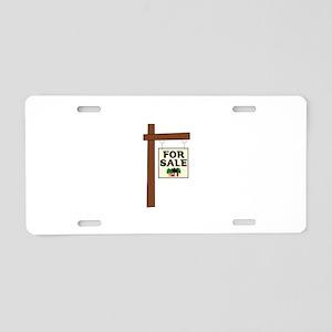 FOR SALE Aluminum License Plate