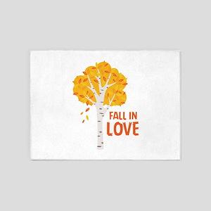 FALL IN LOVE 5'x7'Area Rug