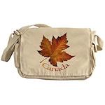 Canada Maple Leaf Souvenir Messenger Bag