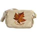 Canada Maple Leaf Souvenir Messenger Bag