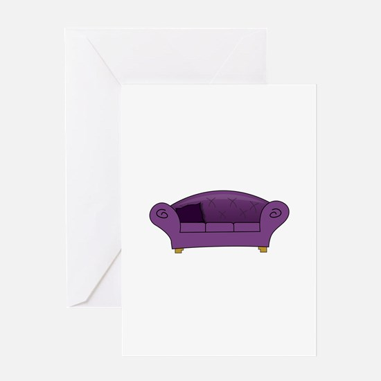 Couch Greeting Cards