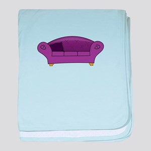 Couch baby blanket