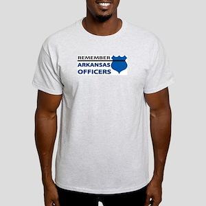 Remember Arkansas Officers Light T-Shirt