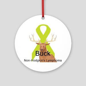 Non-Hodgkin's Lymphoma Ornament (Round)