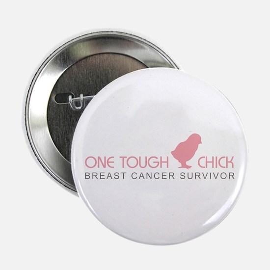 One Tough Chick Button